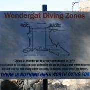 Wondergat dive Map